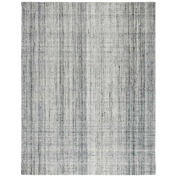Handmade Tufted Wool Gray/Black Area Rug - Perigold