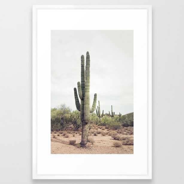 Desert Cactus Framed Art Print - Society6