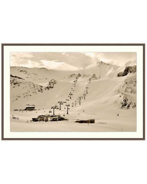 SKI LIFT Framed Art - McGee & Co.