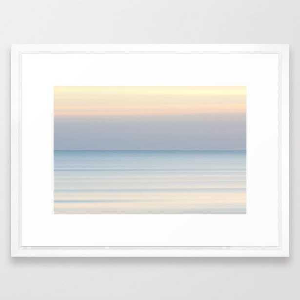 """Ocean Sunrise Framed Art Print - 20"""" x 26"""" - Society6"""