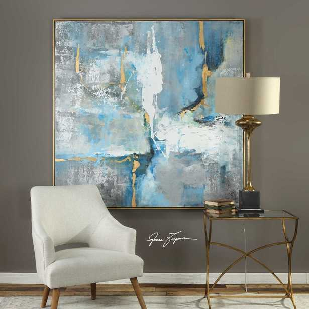 MEDITATION HAND PAINTED CANVAS - Hudsonhill Foundry