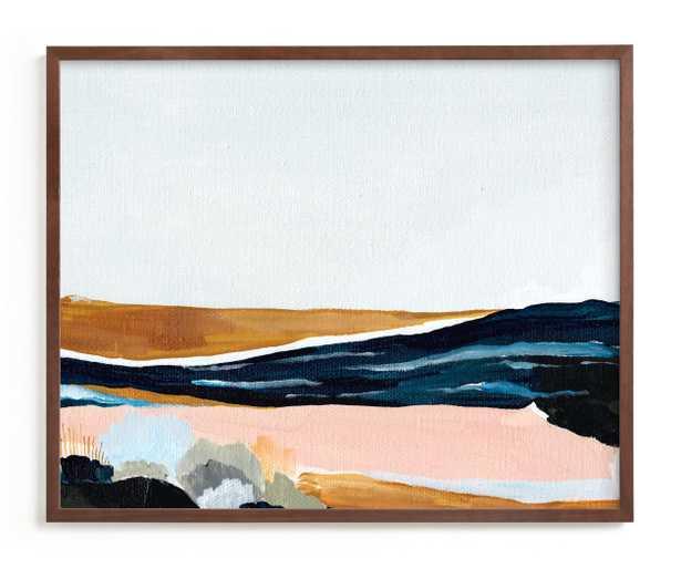 "Sandspit, Print, Raw Wood Frame, 30"" x 24"" - Minted"