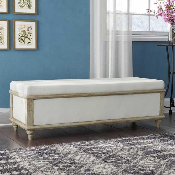 Pennie Upholstered Storage Bench - Wayfair