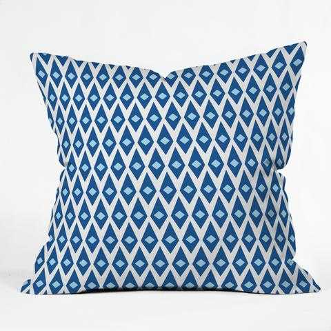 "Paragon Outdoor Throw Pillow - 18"" x 18"" - Polyester Insert - Wander Print Co."