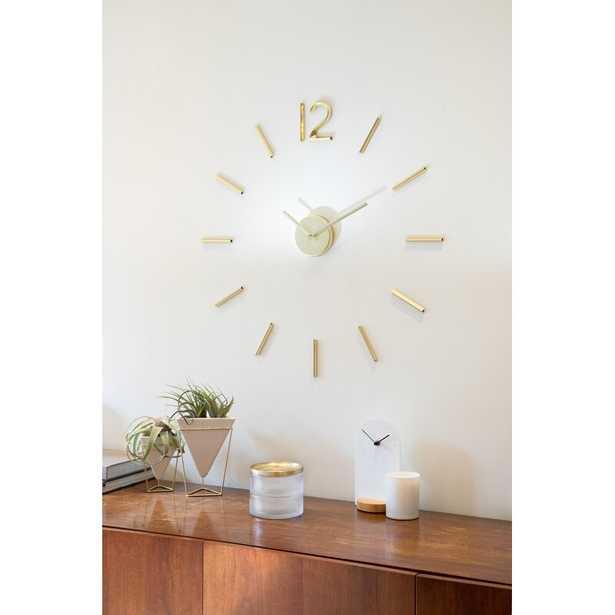 Oversized Blink Wall Clock - AllModern