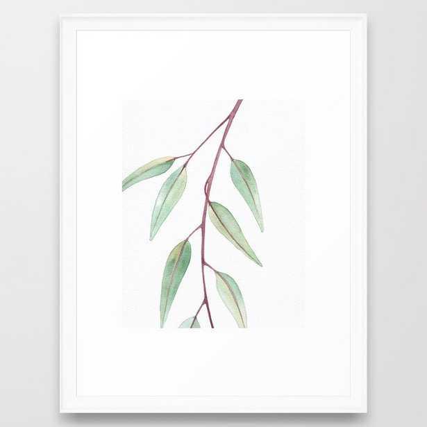 Eucalyptus Leaves Two Framed Art Print - Society6
