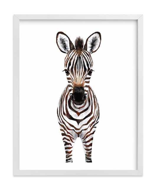 Baby Zebra 2 Art Print - Minted