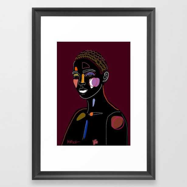 Yerhu Framed Art Print - Society6