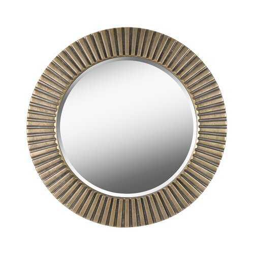 Round Eclectic Accent Mirror - Wayfair