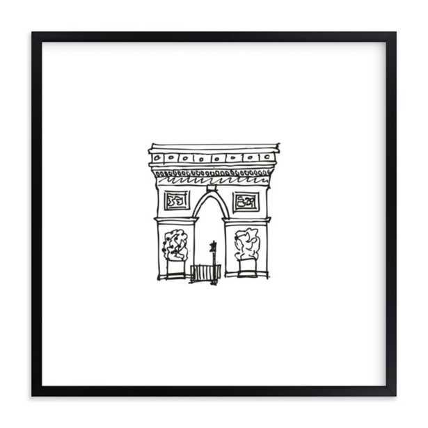 The Arc de Triomphe Paris - Minted