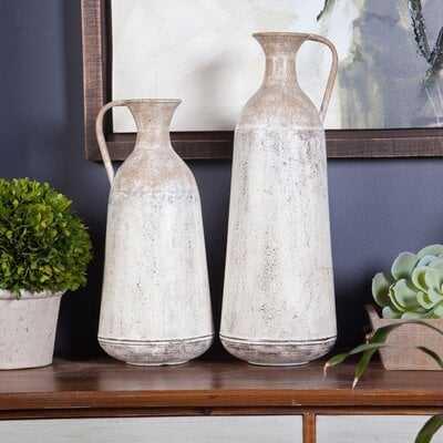 Randel Pitcher 2 Piece Floor Vase Set - Wayfair