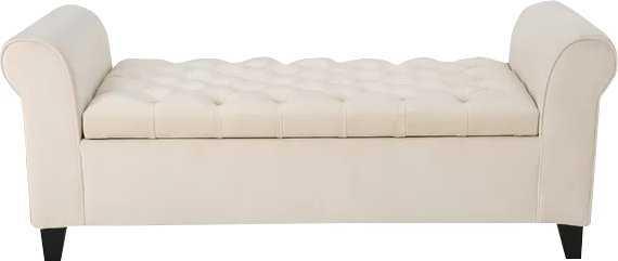 Claxton Upholstered Storage Bench - Wayfair
