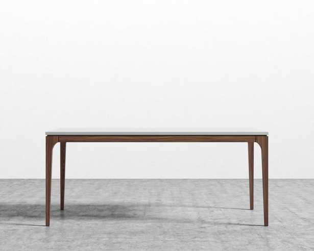 Lars Dining Table - White Walnut-stained Ash Wood - Rove Concepts