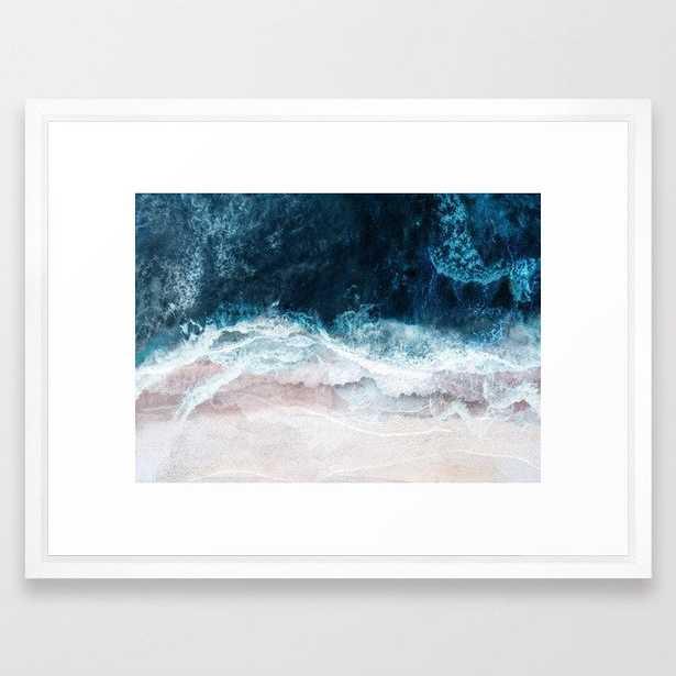 Blue Sea II Framed Art Print - Society6
