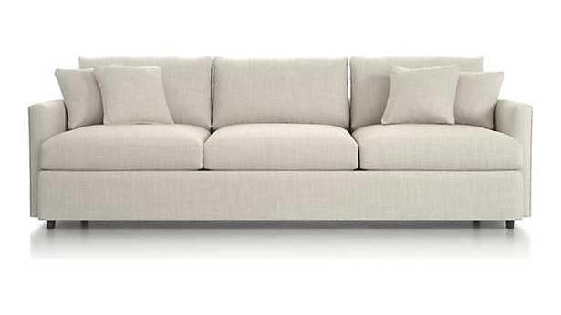 "Lounge II 3-Seat 105"" Grande Sofa - Windward Sand - Crate and Barrel"