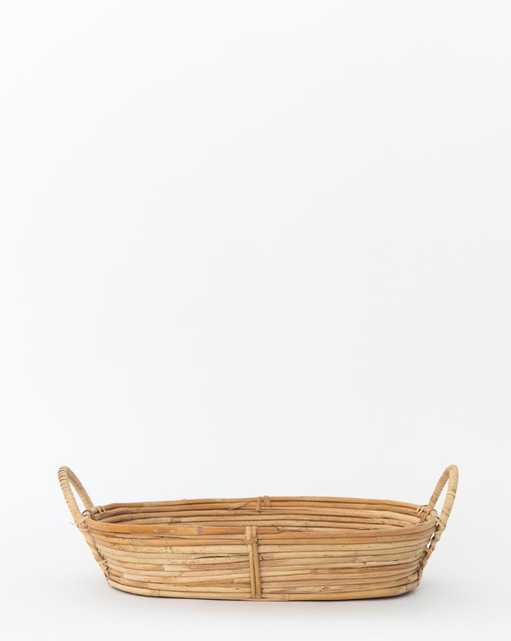 RATTAN CATCH-ALL BASKET - small - McGee & Co.
