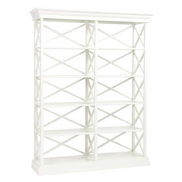 Bourdonnais Double Bookcase Tall - Ballard Designs