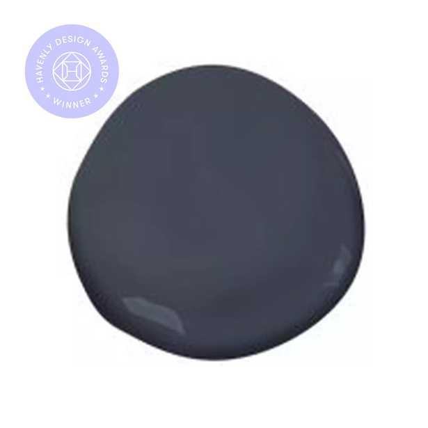 Hale Navy (HC-154), ben® Waterborne Interior Paint, Semi-Gloss, Quart Size - Benjamin Moore