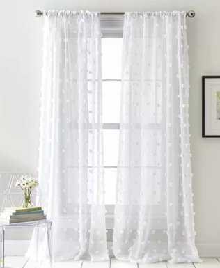 Ella Sheer Rod Pocket Curtain Panels - Wayfair