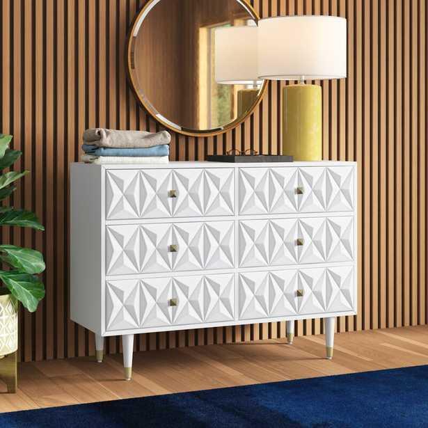 Morley 6 Drawer Double Dresser - AllModern