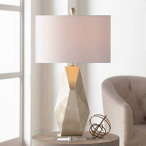 Possini Euro Alysha Geometric Table Lamp - Lamps Plus