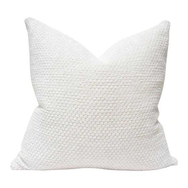 Luxe Cloud Pearl - 18x18 pillow cover - Arianna Belle