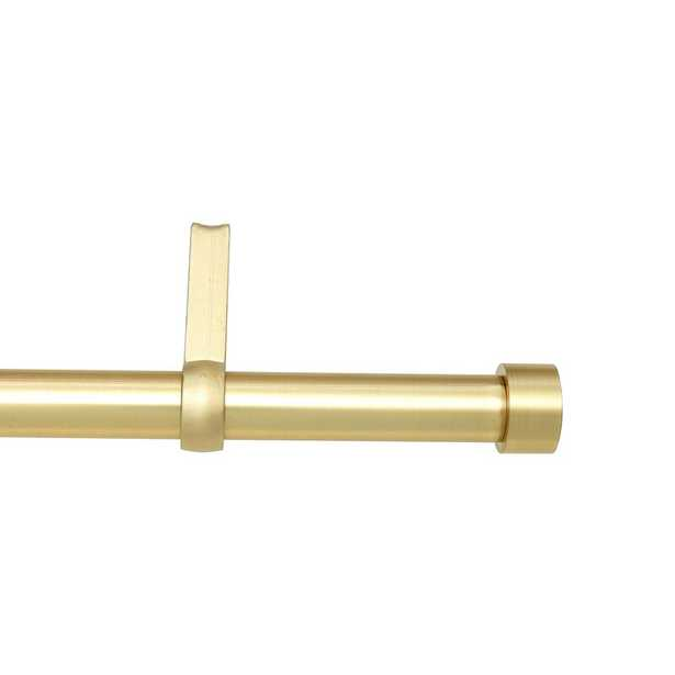 Caiden Single Curtain Rod and Hardware Set - Wayfair