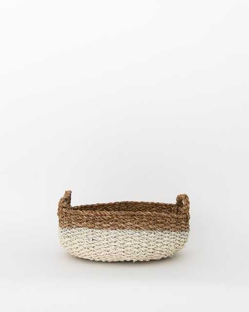 DIPPED SEAGRASS BASKETS, SMALL - McGee & Co.