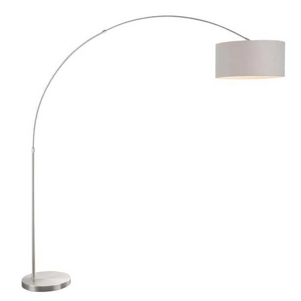 "Jessup 76"" Arched/Arc Floor Lamp - Wayfair"