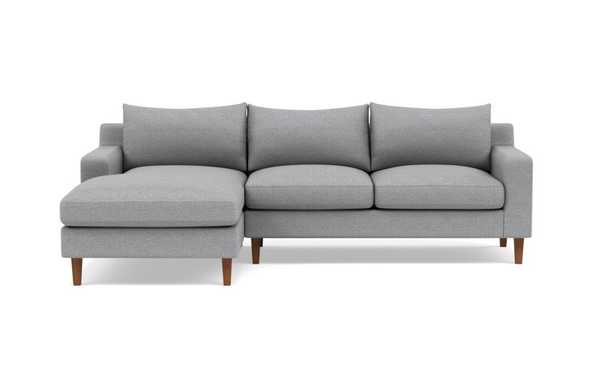SLOAN Sectional Sofa with Left Chaise - Interior Define