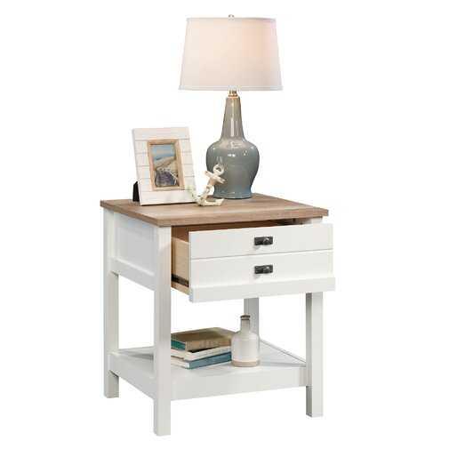 Paignt 1 Drawer Nightstand- soft white - Wayfair
