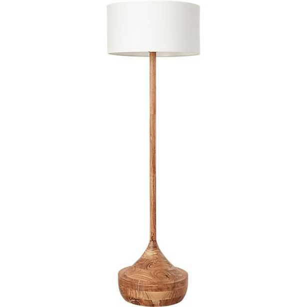 ATLAS WOOD FLOOR LAMP - West Elm