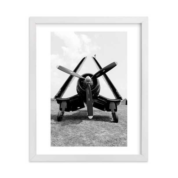"Sky Bird 4 Framed Art By Minted®, 8""X10"", White - Pottery Barn Teen"