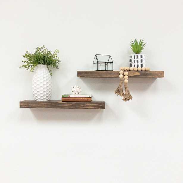 Evonne 2 Piece Wall Shelf Set - Birch Lane