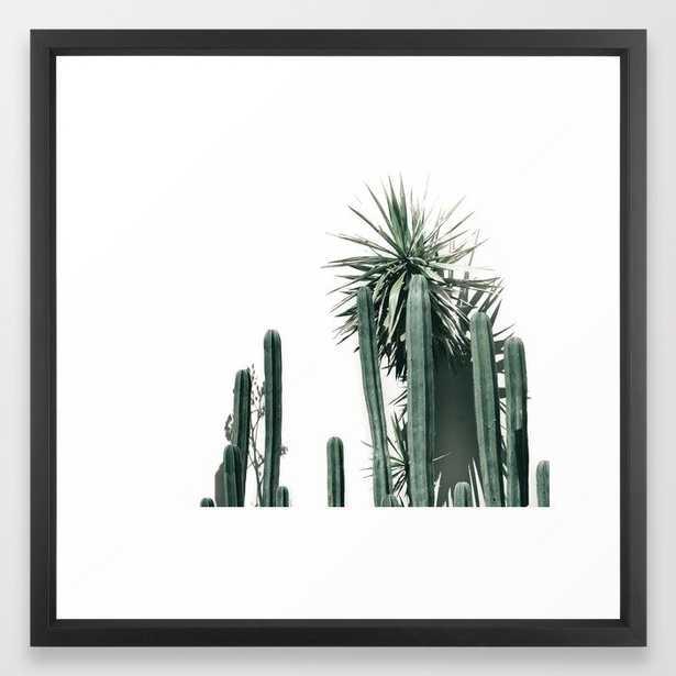 Desert Botanicals Framed Art Print - Society6