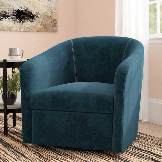 Raphael Swivel Barrel Chair - Wayfair