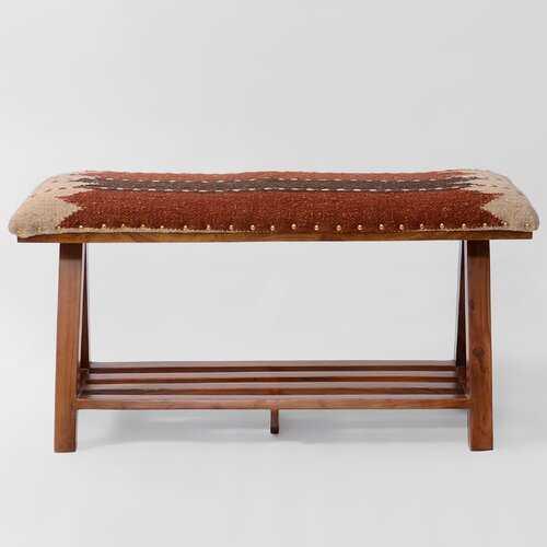 Seery Upholstered Storage Bench - Wayfair