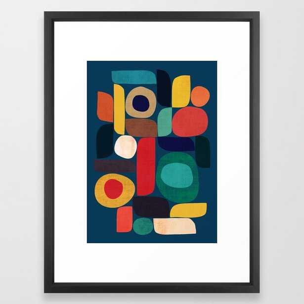 Miles and miles framed art print 20x26 - Society6