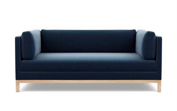 Jasper Long Two-Arm Sofa, Natural Oak Base - Interior Define