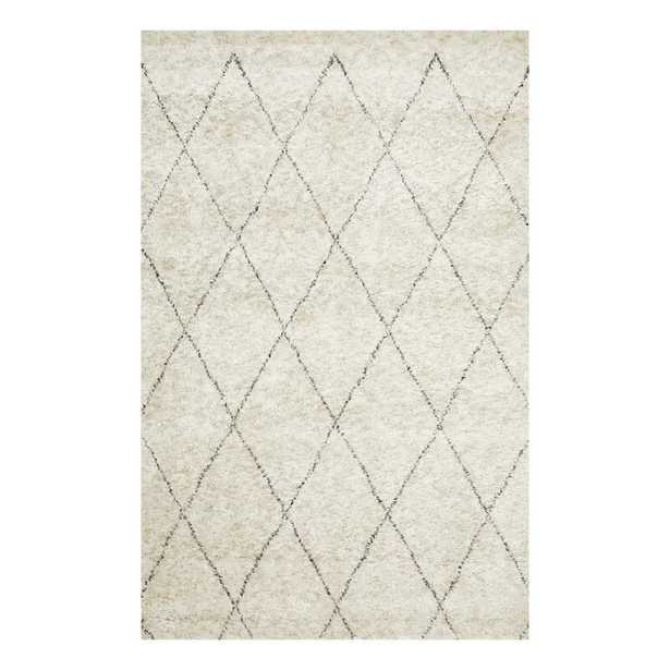 Grandfield Moroccan Hand-Knotted Linen Area Rug - Wayfair