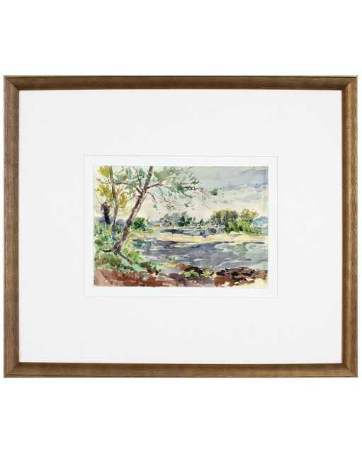 WOODNOTE 2 Framed Art - McGee & Co.
