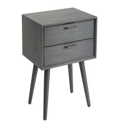 Dani End Table with Storage - AllModern