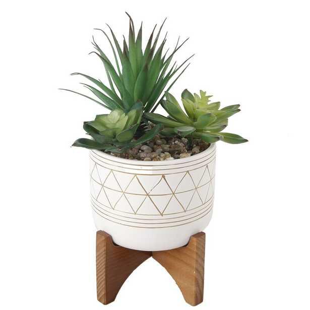 Blasingame Geo Pot Planter - Wayfair