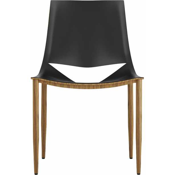 Sloane Leather Upholstered Side Chair - Perigold