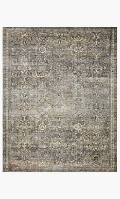 """LAYLA LAY-13 Antique / Moss 9'-0"""" x 12'-0"""" - Loma Essentials"""