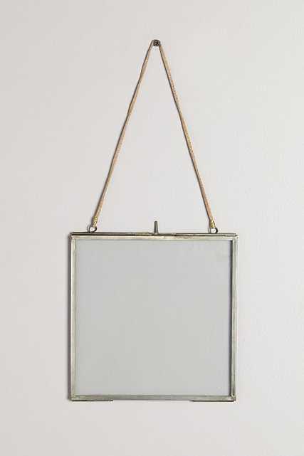 """Viteri Hanging Frame - Light Gray 8"""" x 8"""" - Anthropologie"""