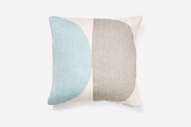 Ice Geometric Circles Pillow Cover (includes pillow insert) - Burrow