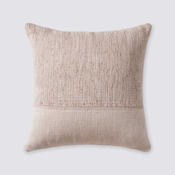 Claro Pillow - Camel - 22 in. x 22 in. By The Citizenry - The Citizenry