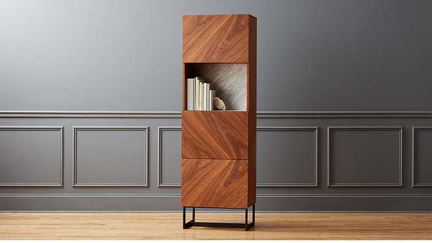 SUSPEND II TALL BAR CABINET RESTOCK IN LATE  MAY 2021. - CB2