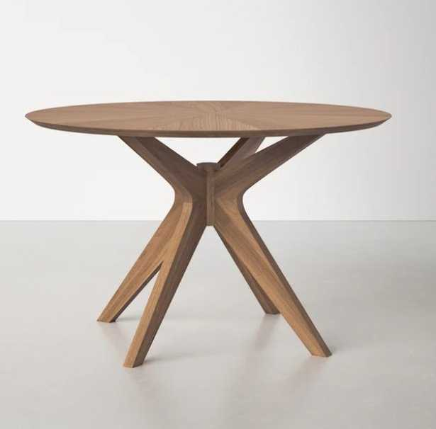Larkin 47.5'' Pedestal Dining Table - Wayfair